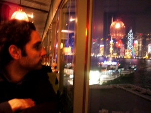 View of Victoria Harbour from restaurant